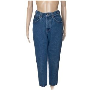 Vintage Chic high rise  high waist Mom's jeans